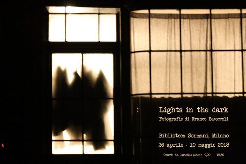 Lights in the dark, la mostra di Franco Bacoccoli alla Biblioteca Sormani di Milano