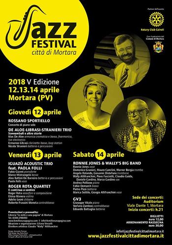 Jazz Festival Città di Mortara, ai nastri di partenza per la quinta edizione