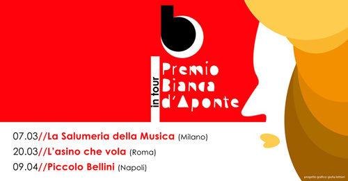 """Per la Festa della donna al via il """"Premio Bianca d'Aponte in tour"""""""