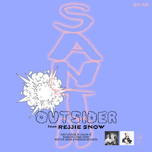 Outsider Feat. Rejjie Snow, il primo singolo estratto dal nuovo album S01 mixato da SANTII