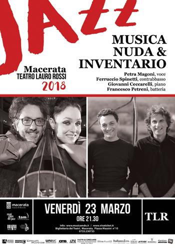 Macerata Jazz, la chiusura con Musica Nuda e gli Inventario