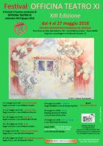 Festival Officina Teatro XI – XIII edizione
