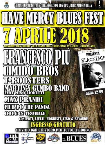 Have Mercy Blues Fest, arriva la IV edizione