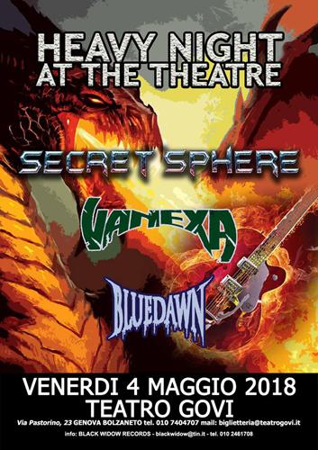 Heavy Metal al Teatro Govi di Bolzaneto il 4 Maggio