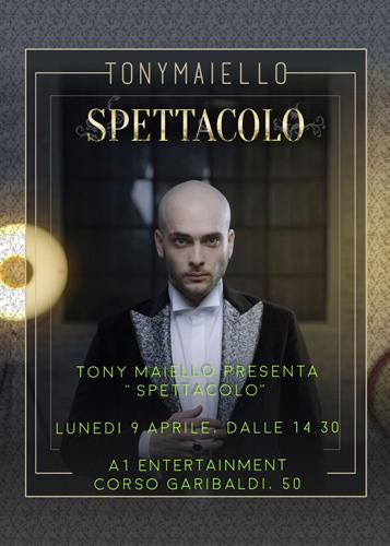 Spettacolo, il nuovo album di Tony Maiello