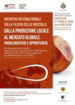 Incontro internazionale sulla filiera della nocciola: dalla produzione locale al mercato globale. problematiche e opportunità