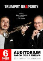 Luca Seccafieno in concerto all'Auditorium Parco della Musica di Roma
