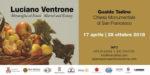 """Vittorio Sgarbi a Gualdo Tadino inaugura """"Luciano Ventrone. Meraviglia ed estasi"""""""