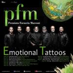 PFM, dopo il successo in Italia e Giappone in partenza per le Americhe con l'Emotional Tattoos Tour