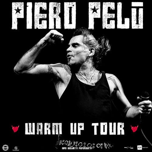 Piero Pelù torna dal vivo con Warm Up Tour, una serie di concerti in tutta Italia