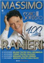 Massimo Ranieri in scena a Milano, Torino, Bergamo e Genova con Sogno e Son desto 400 volte