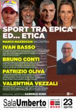 Sport tra epica ed… etica … al Sala Umberto di Roma