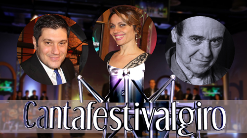 Saliola, Presti e Napolitano. Torna in TV il Cantafestivalgiro