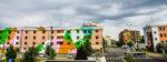 """""""Without Frontiers – Lunetta a colori"""" – L'arte urbana, l'arte pubblica e l'arte relazionale si incontrano a Mantova"""