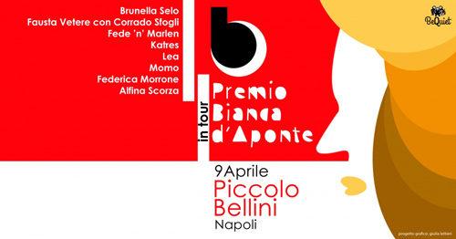 Il Premio Bianca d'Aponte a Napoli con Fausta Vetere e Brunella Selo