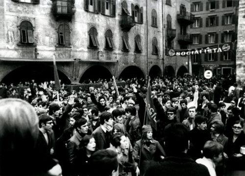 Generazione '68. Sociologia, Trento, il mondo, la mostra presso il Dipartimento di Sociologia e Ricerca Sociale di Trento