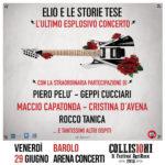 ELIO E LE STORIE TESE riuniscono per un esplosivo ultimo concerto tantissimi artisti a Collisioni Festival di Barolo