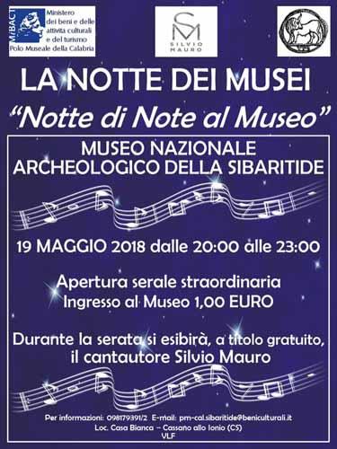 La notte europea dei Musei