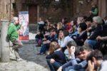 Pino Strabioli, Paola Minaccioni, Blas Roca Rey per la giornata di chiusura di A Spasso con ABC
