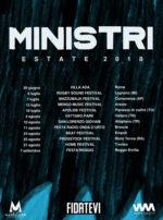 Ministri, al via il tour estivo Ministri Estate 2018 per presentare il nuovo album Fidatevi