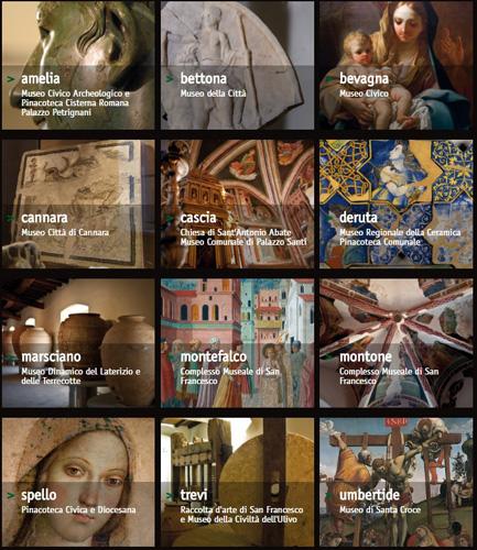 Viaggio nel tempo tra i capolavori dell'Umbria. Il circuito Umbria Terre Musei si visita con il biglietto unico