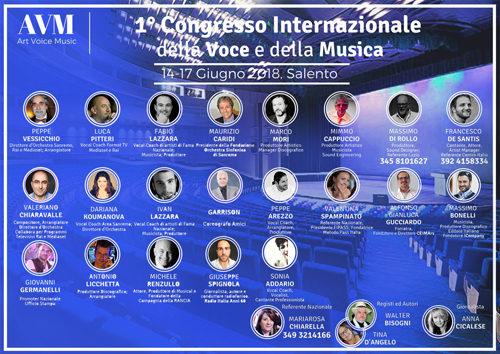"""""""1° Congresso della Voce e della Musica"""""""