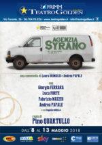 Agenzia Syrano, una commedia di Laura Grimaldi e Andrea Papale in scena al Teatro Golden di Roma