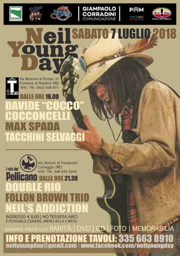 Con il Neil Young Day parte l'edizione 2018 del Rootsway Festival