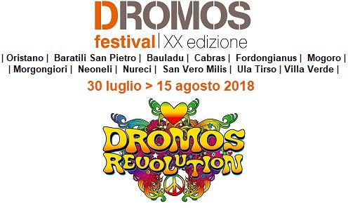 XX Dromos Festival. Dal 30 luglio al 15 agosto tra Oristano e altri undici centri della provincia