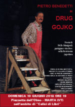 Drug Gojko, il libro di Pietro Benedetti