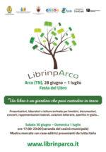 Per quattro giorni i libri protagonisti nei parchi di Arco in Trentino