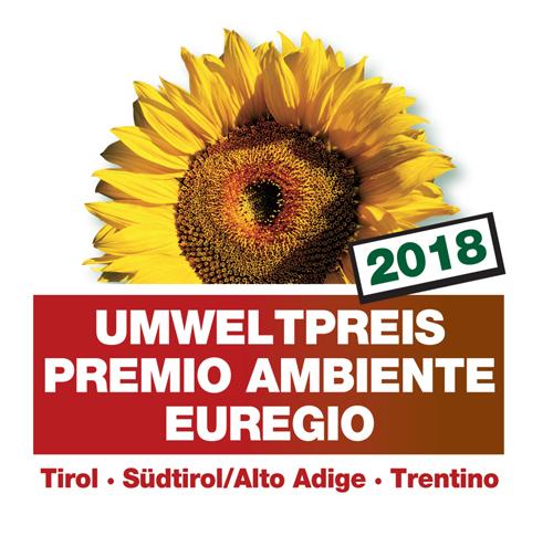 La decima edizione del Premio Ambiente Euregio Tirol – Alto Adige – Trentino 2018