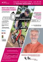 Nico Valsesia e Giovanni Storti presentano con MANIma Onlus From Zero to Kilimangiaro