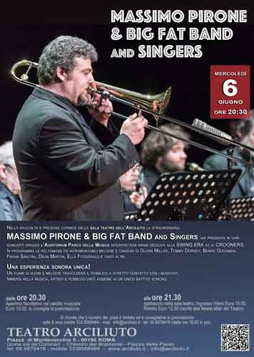 Massimo Pirone & Big Fat Band and Singers al Teatro Arciliuto