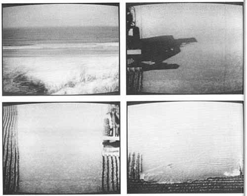Proiezione film sperimentale di Gerry Schum- Land Art-Fernsehausstellung 1 – Palazzo Pretorio nell'ambito della mostra Sirio Luginbuhl