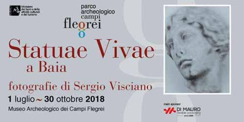 Statuae Vivae, il progetto fotografico di Sergio Visciano Museo Archeologico dei Campi Flegrei nel Castello di Baia