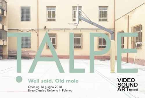 Video Sound Art presenta il progetto espositivo TALPE. Well said, Old mole