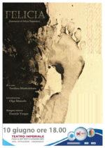 Felicia (frammenti di Felicia Impastato), lo spettacolo al Teatro Imperiale di Giudonia