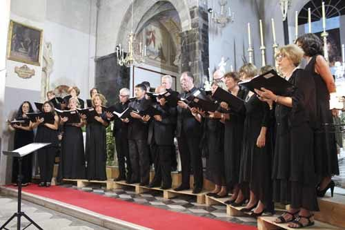 L'omaggio dei Ludus Vocalis al Cardinale Domenico Bartolucci