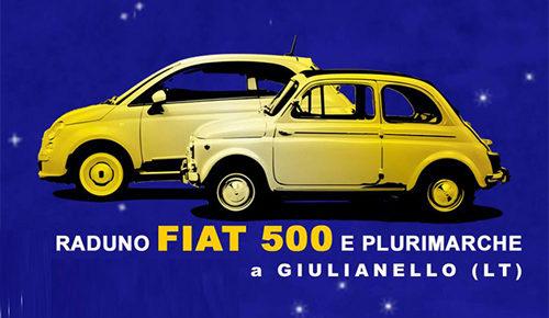 Raduno Cinquecento e Plurimarche, al via il nono raduno a Giulianello