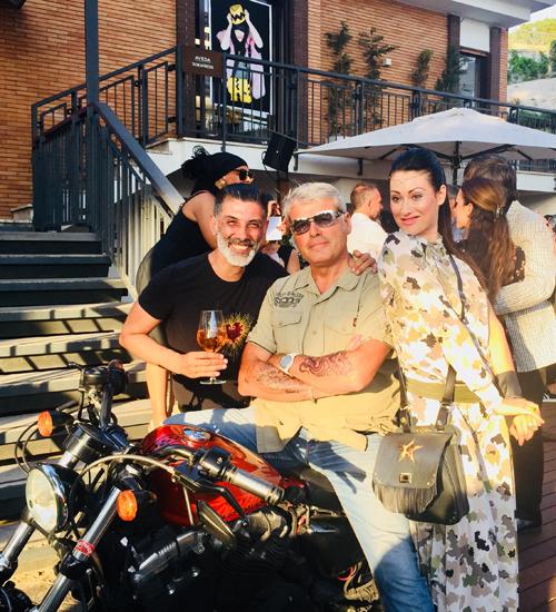 Alessia Zibellini e Nicky Wells  al Loft 66 di Roma