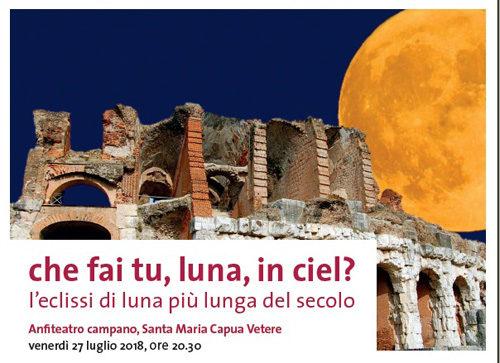 Che fai tu,luna in ciel? L'eclissi più lunga del secolo