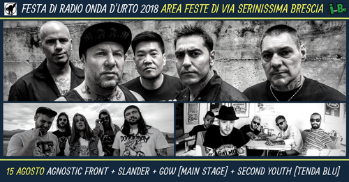 Ferragosto 2018 a festa di Radio Onda D'urto a Brescia