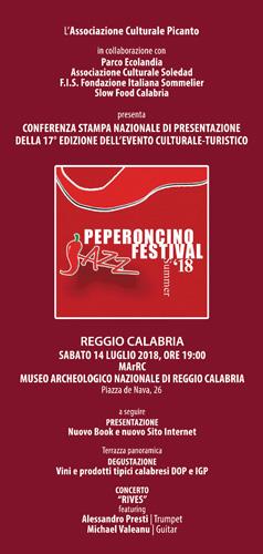 XVII Peperoncino Jazz Festival al via