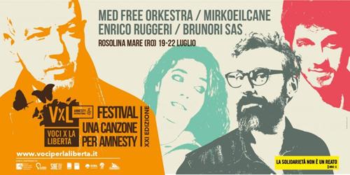 """Le canzoni per Amnesty protagoniste a """"Voci per la libertà 2018"""""""