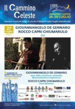 """Giovannangelo De Gennaro e Rocco Capri Chiumarulo protagonisti del Festival """"Il Cammino Celeste"""" con il disco """"Via"""""""