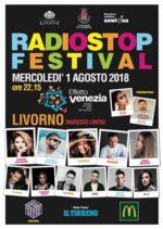 """Radio Stop Festival sbarca a Livorno in occasione del Festival """"Effetto Venezia 2018"""""""