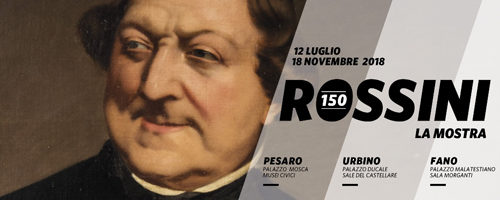 Rossini 150, la mostra omaggio a Pesaro
