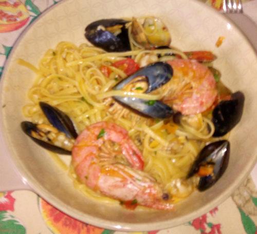 Spaghetti allo scoglio di Tamara