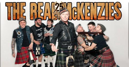 The Real McKenzies in concerto al Rock Town – Cordenons di Pordenone